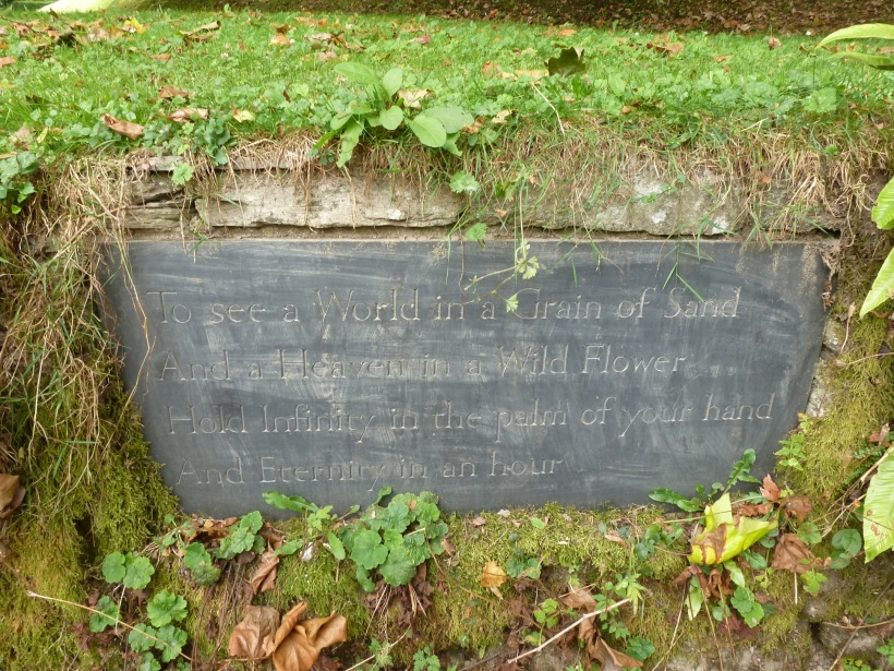 William Blake quote from Dartington Hall for Twitter